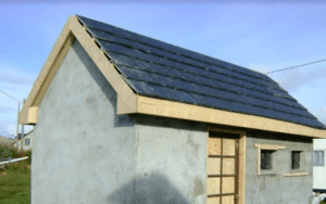 Garage Shed roofing